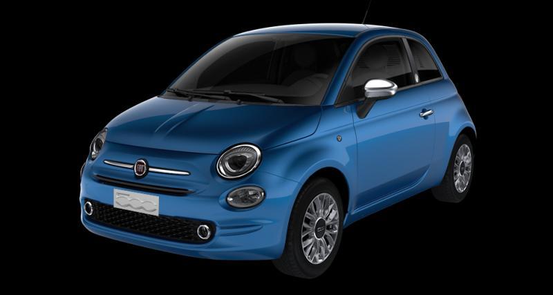 Fiat 500 : une offre de LLD à 149 euros par mois pendant 12 mois et sans apport