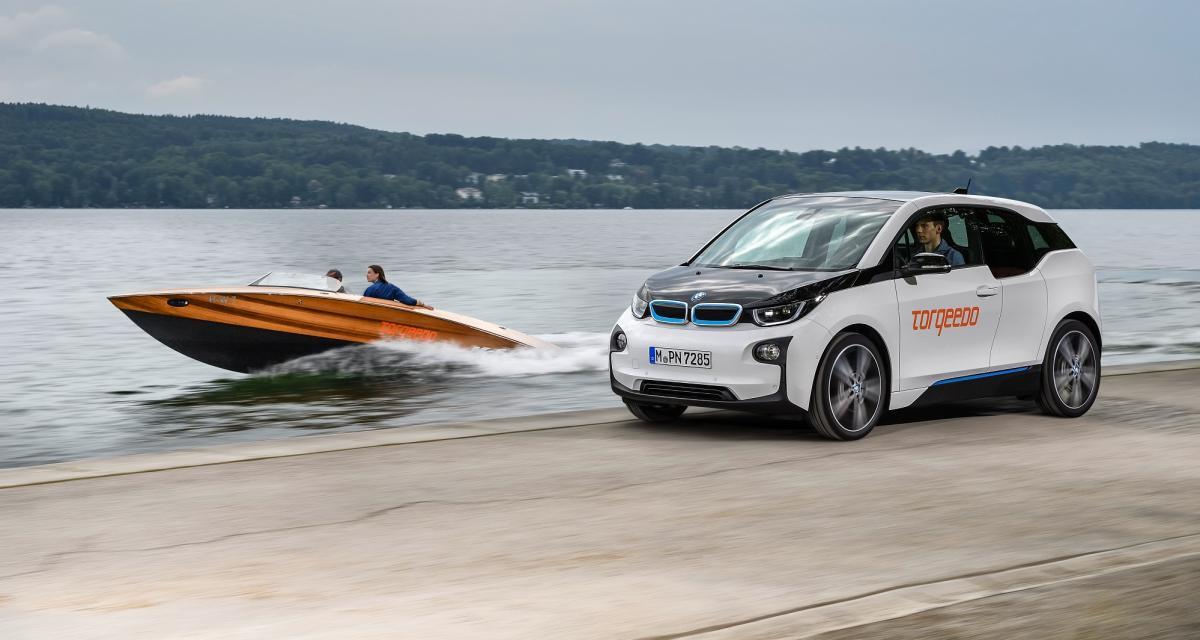 La batterie de la BMW i3 maintenant embarquée dans un bateau électrique