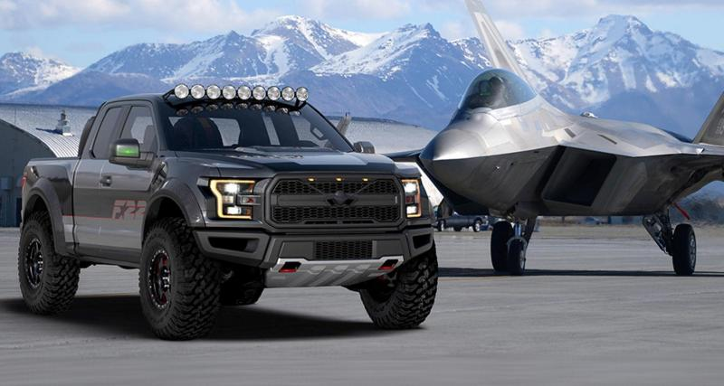 Ford F-22 Raptor F-150 : la tête dans les nuages