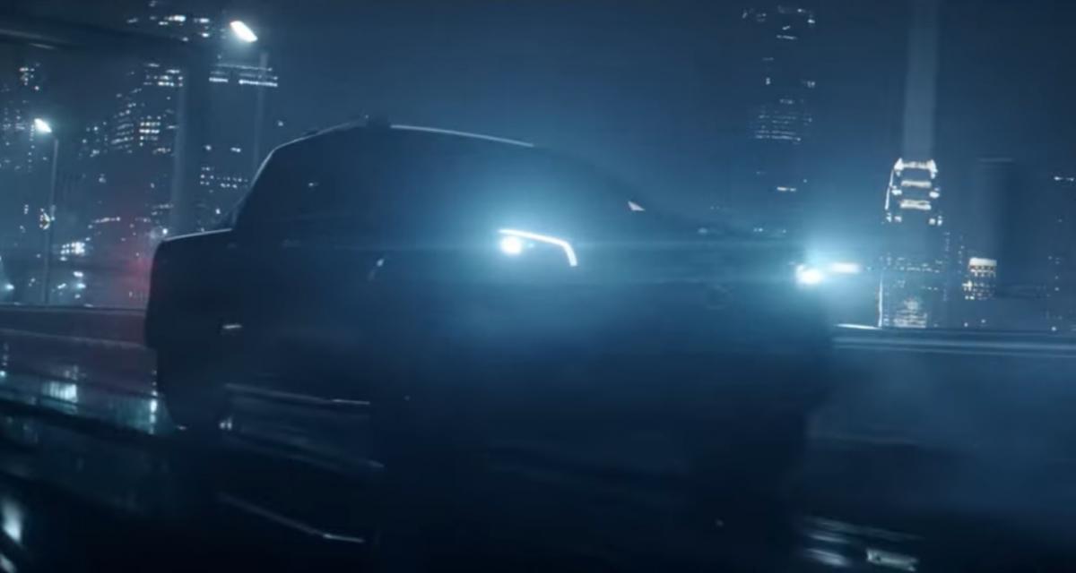 Des taureaux et des avalanches pour le teaser du Mercedes Classe X