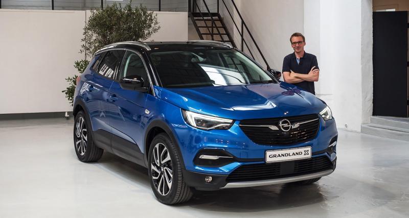 À bord de l'Opel Grandland X, cousin germain du Peugeot 3008