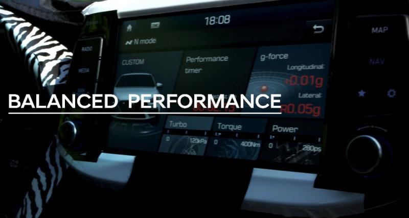 La Hyundai i30 N vise les sensations fortes plus que les performances