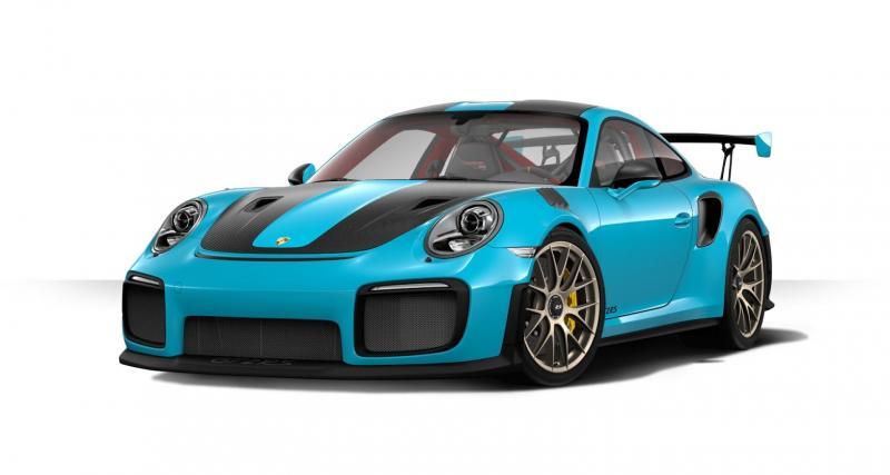 La Porsche 911 GT2 RS a maintenant son configurateur