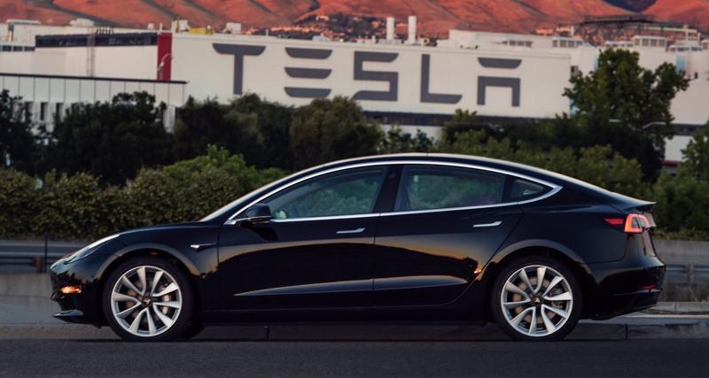 La première Tesla Model 3 est née, et elle appartient à Elon Musk
