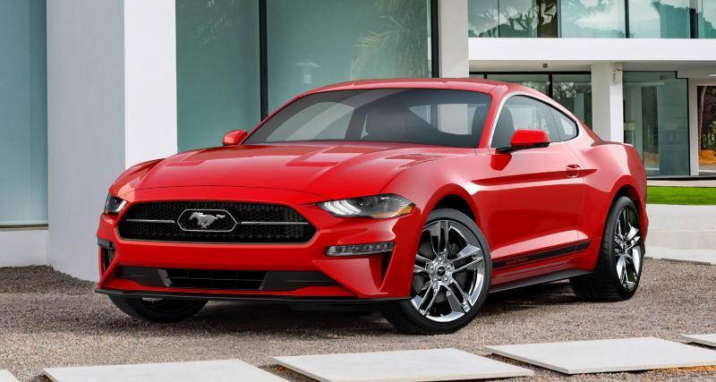 La Ford Mustang restylée en mode rétro grâce au Pony Pack