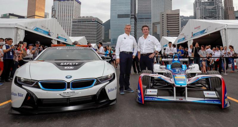 BMW s'engage officiellement en Formule E