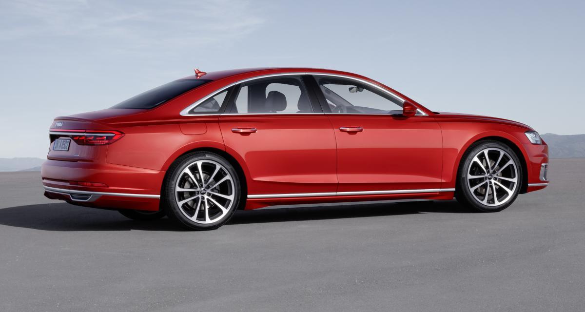 Nouvelle Audi A8: autonome (presque), tactile et hybridée
