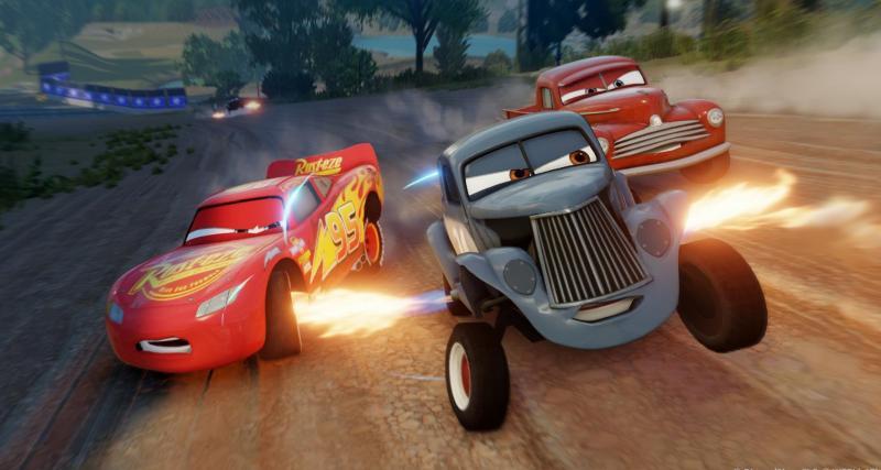 Cars 3: Course Vers La Victoire sort aujourd'hui sur consoles de jeu