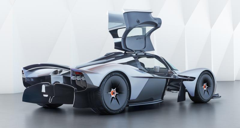 Aston Martin Valkyrie: son design expliqué
