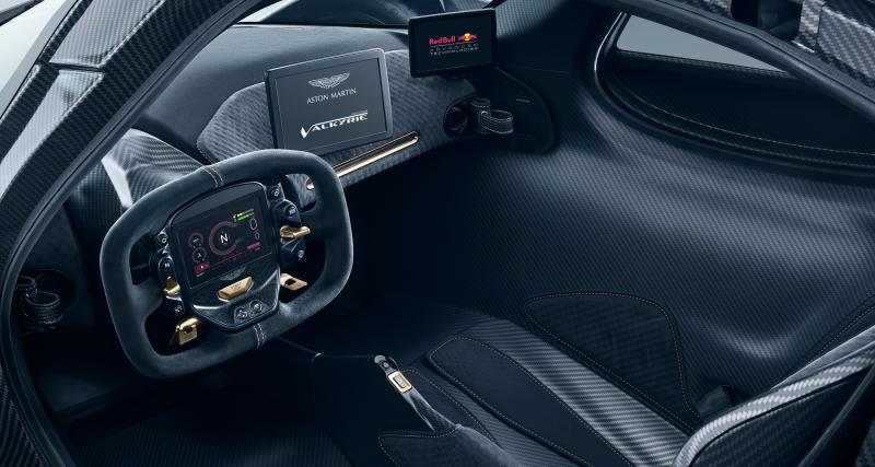 Un cockpit à mi-chemin entre la F1 et le prototype d'endurance
