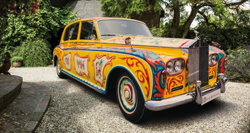 La Rolls Royce Phantom de John Lennon revient à la maison