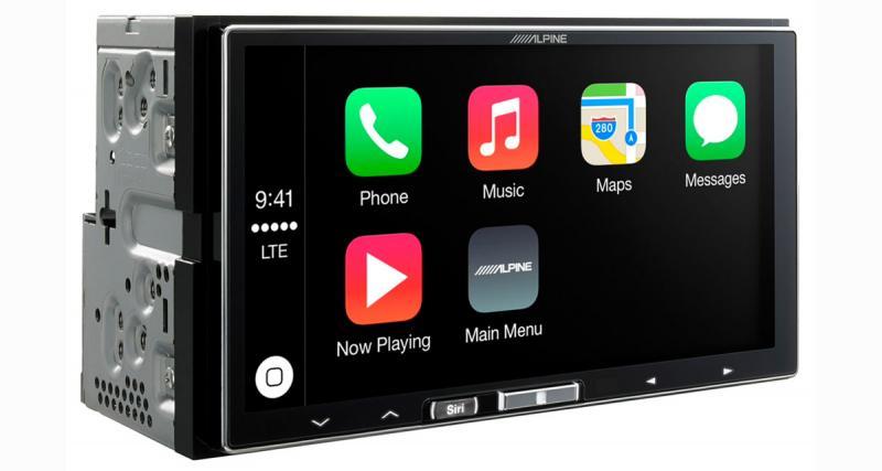 Alpine iLX700 : dédié à l'iPhone