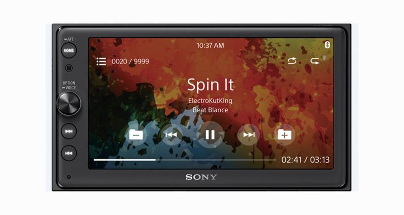 Sony XAV 100 : Android Auto et CarPlay