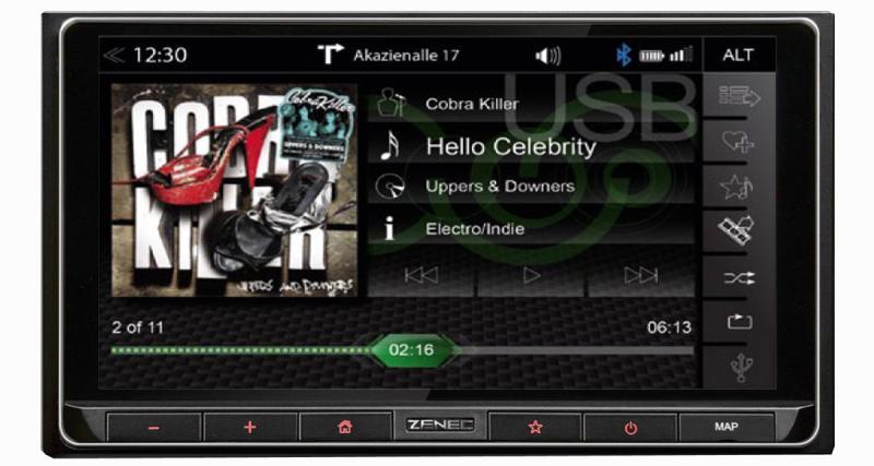 Avec le Z-N426, Zenec commercialise un combiné multimédia haut de gamme dédié aux sources nomades