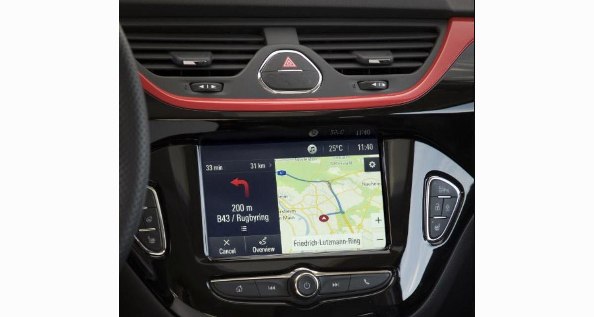 Le système mulimédia Navi 4.0 est maintenant disponible sur les Opel Karl, Adam et Corsa