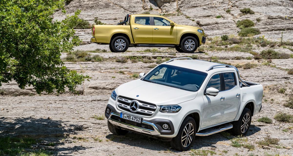 Mercedes Classe X: le pickup lifestyle