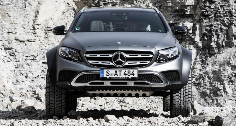 Mercedes Classe E All-Terrain 4x4²: par passion d'ingénieurs