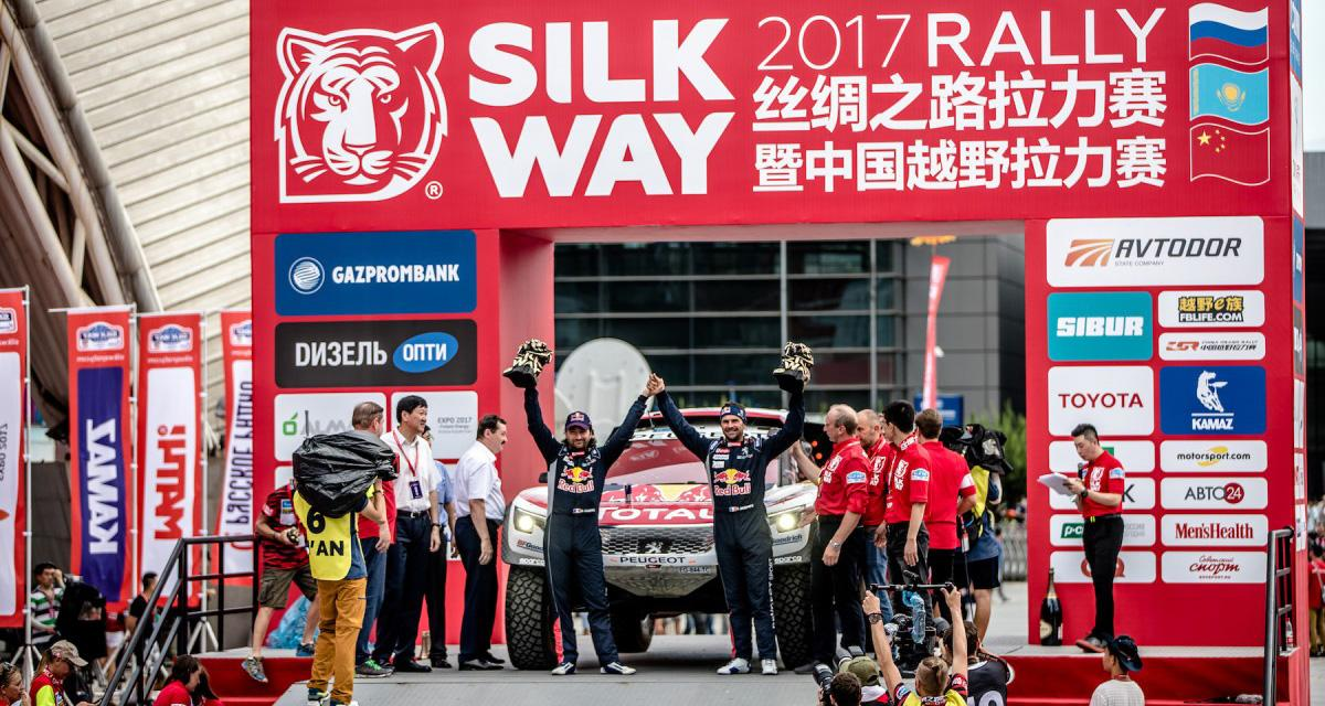 Peugeot remporte le Silk Way Rally 2017