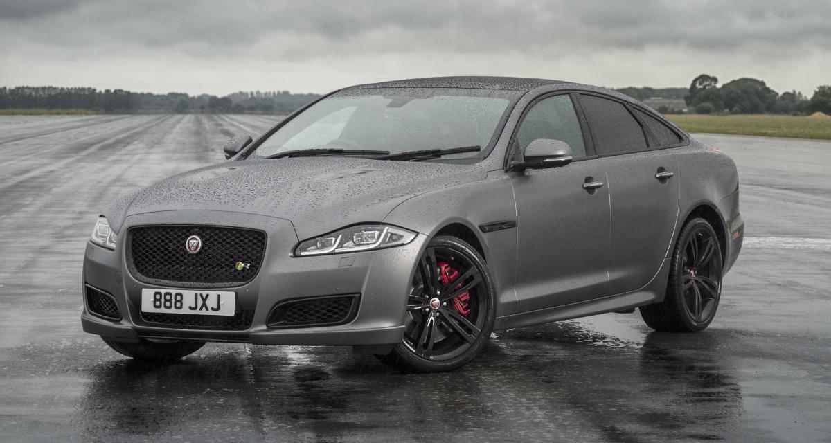 Jaguar présente la XJ cuvée 2018 en inaugurant une version sportive XJR575