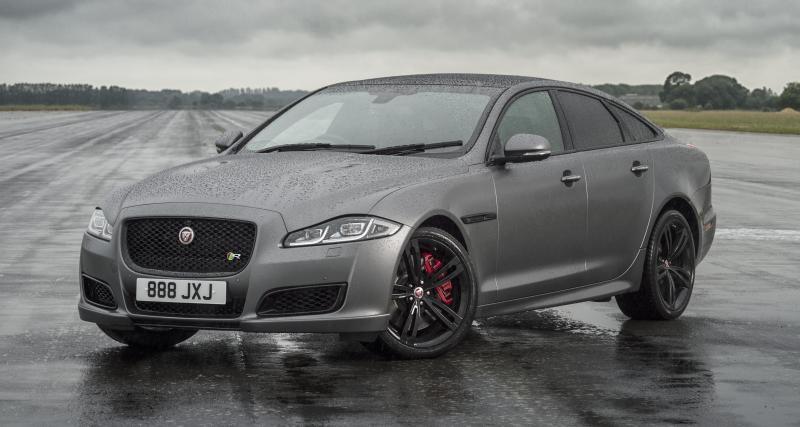 Jaguar met à jour sa limousine XJ