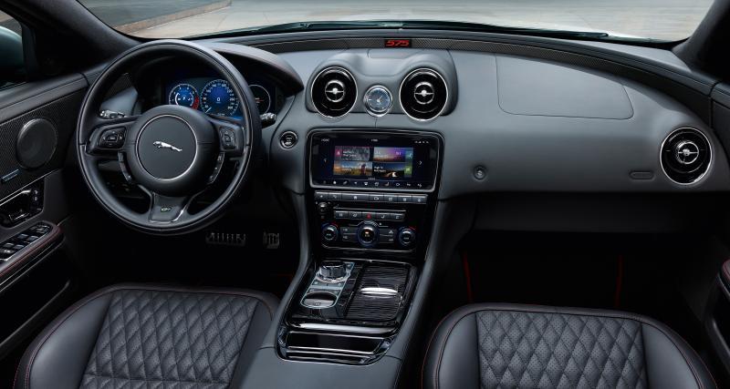 Maroc Automobile Actualité VoitureAuMaroc.com Jaguar XJ : jusqu'à 575 ch