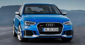 L'Audi RS 3 Sportback restylée commercialisée à partir de 61 500 euros
