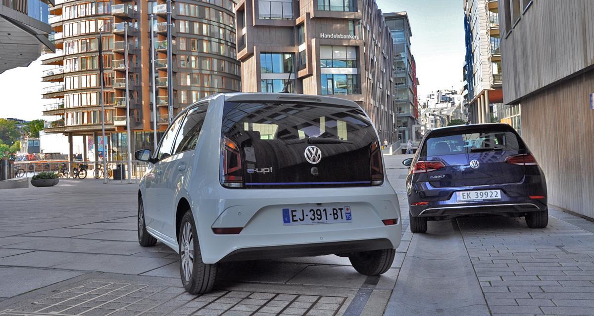 Essai gamme électrique: Volkswagen e-Golf & e-Up!