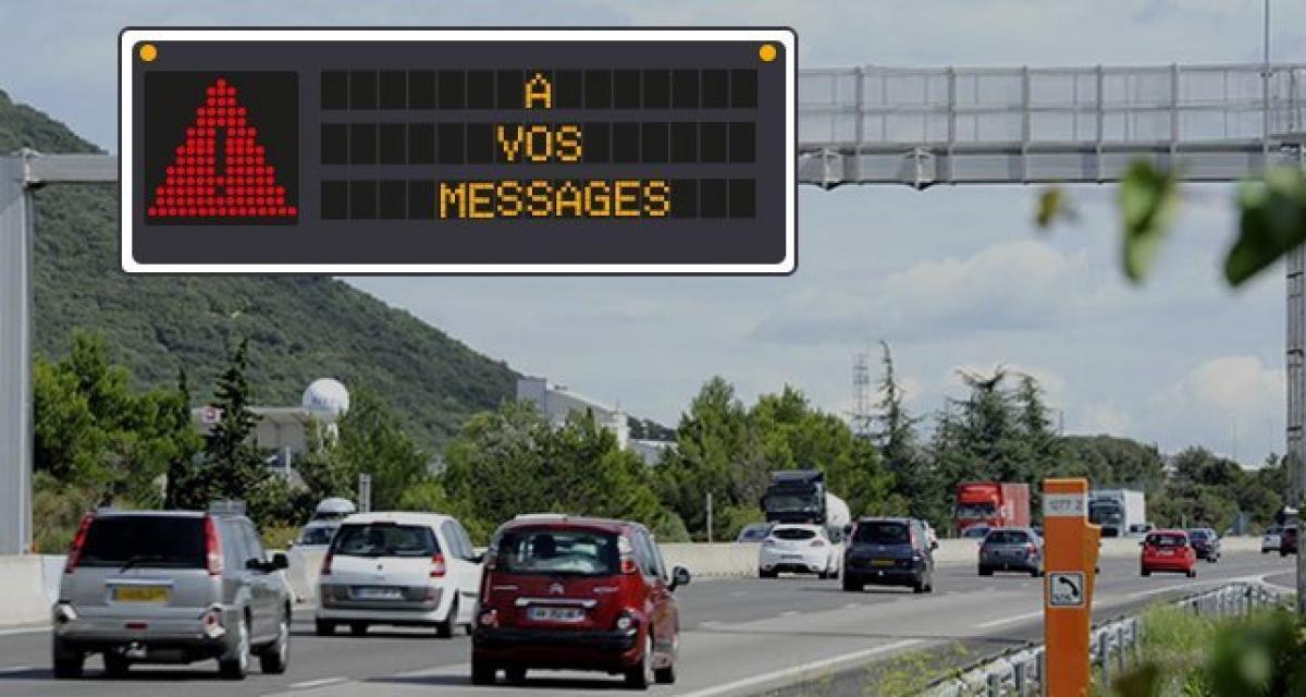 Créez vos propres messages de prévention pour la route des vacances