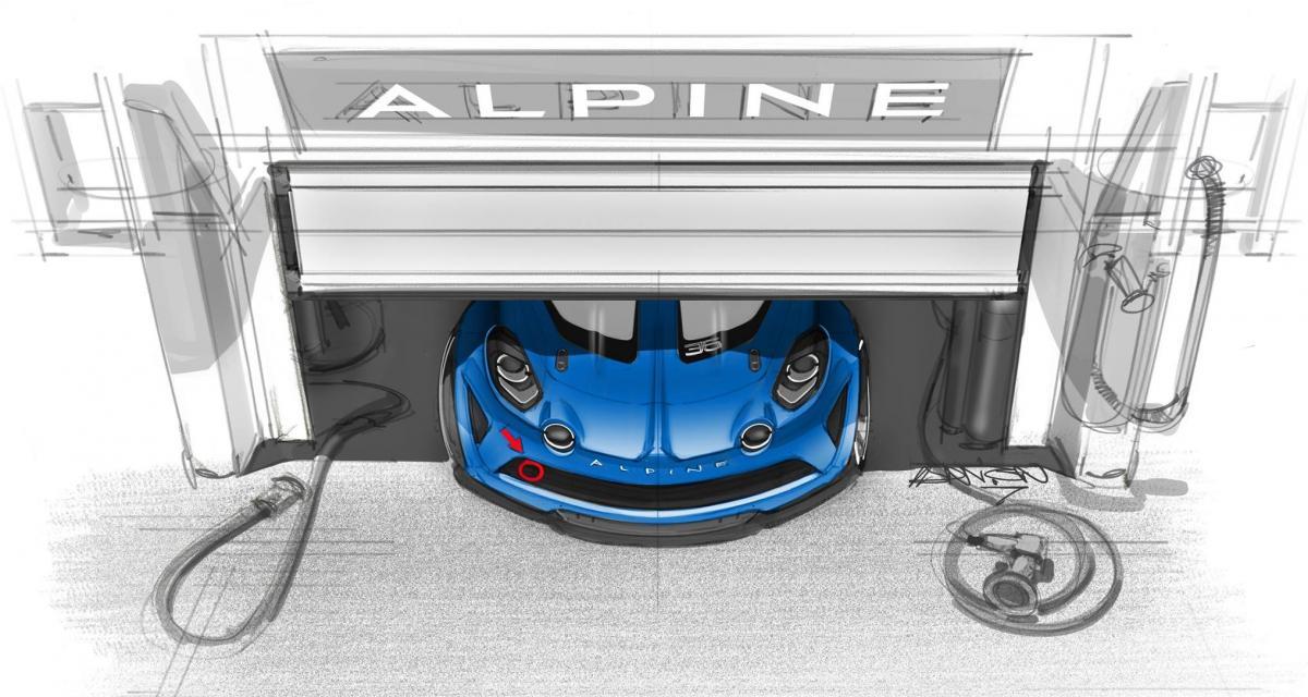 Alpine A110 : une version Cup et un championnat monotype en 2018