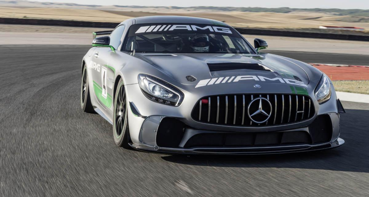 Mercedes-AMG GT4 : R de course