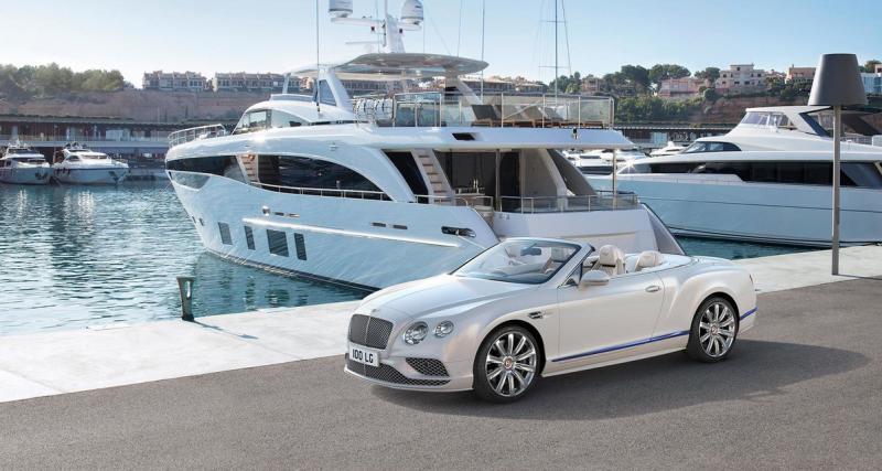 Bentley Continental GTC Galène Edition : le cabriolet aux airs de yacht