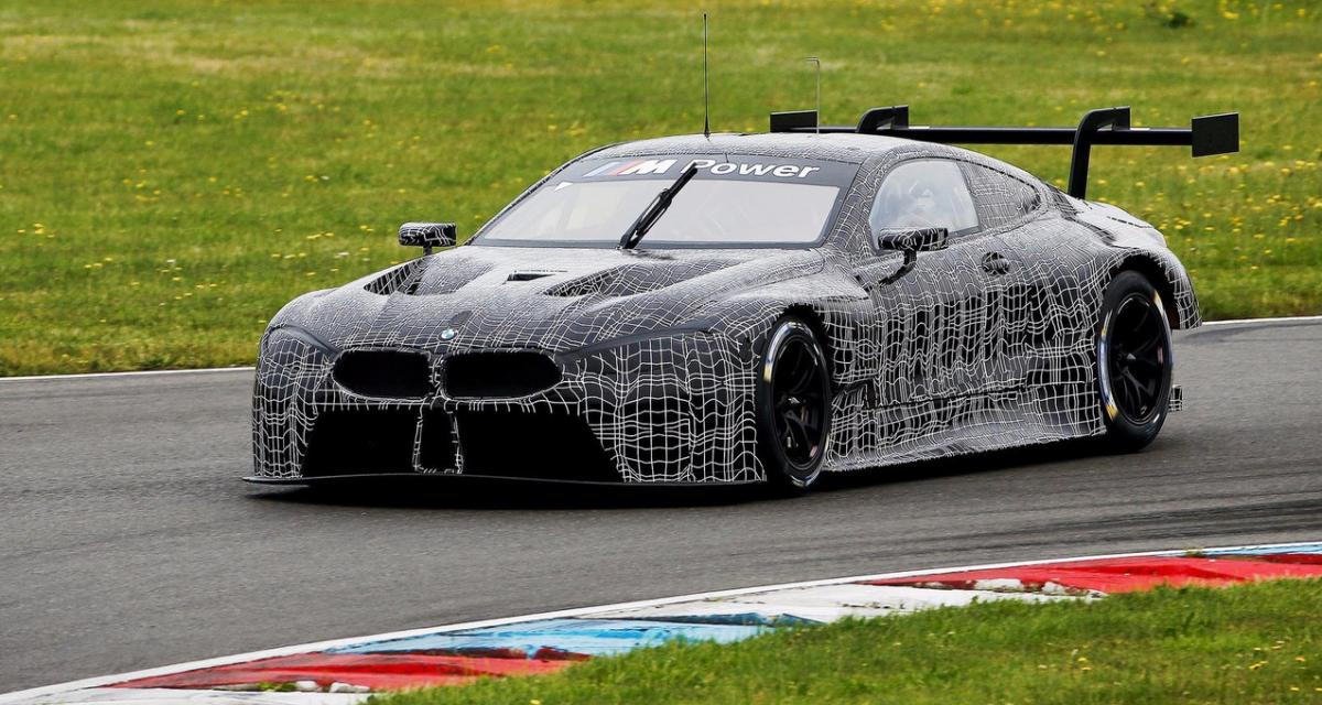 la bmw m8 gte se pr pare pour les 24 heures du mans. Black Bedroom Furniture Sets. Home Design Ideas
