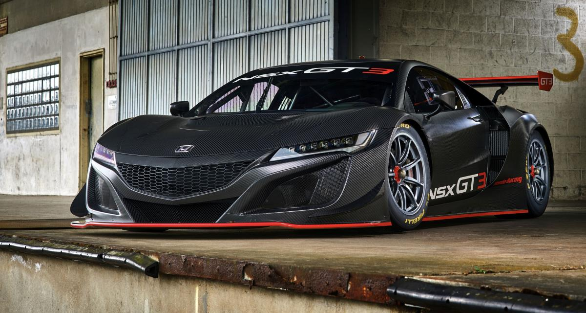 Honda NSX GT3 : maintenant en vente contre un demi-million d'euros