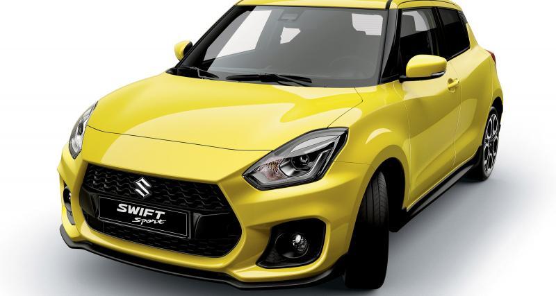 Suzuki Swift Sport 2018 : nouvelles images et boîte mécanique confirmée
