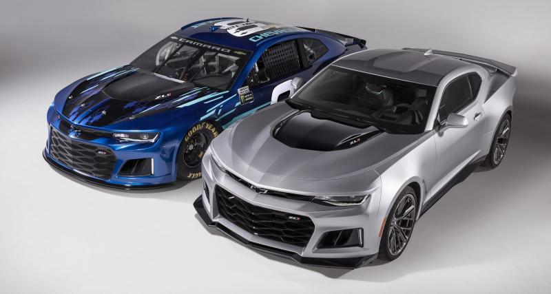 La Chevrolet Camaro ZL1 bientôt en NASCAR