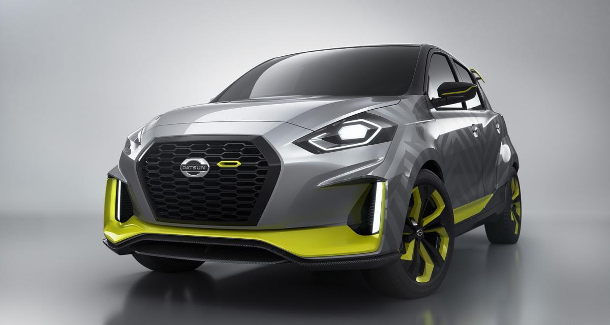 Datsun Go Live Concept : une citadine survitaminée pour la marque low-cost de Nissan