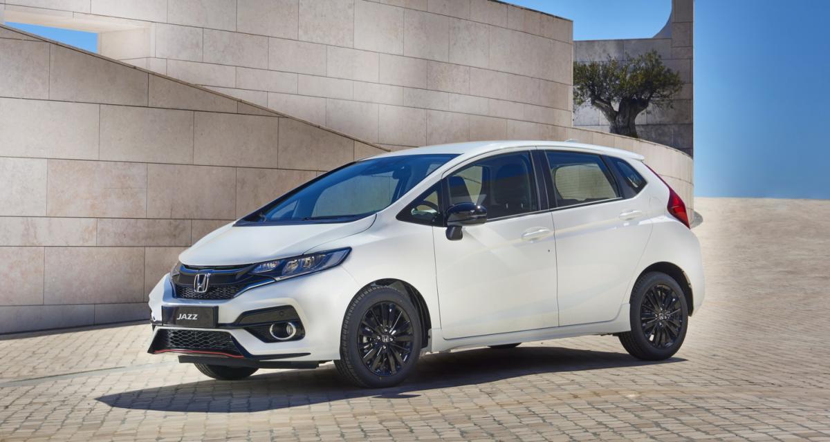 Honda Jazz restylée : une version ''sportive'' fait son entrée