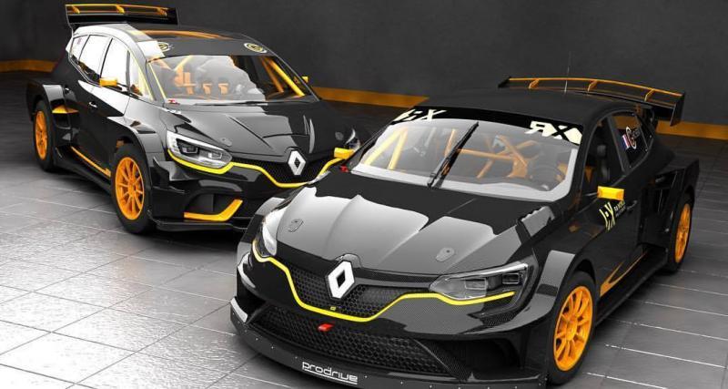 Renault Scénic : bientôt une version RX pour faire du rallycross en famille