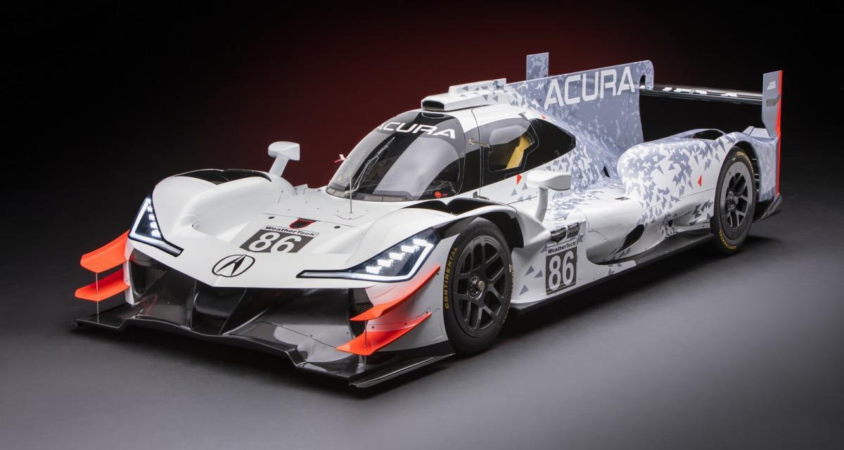 Acura ARX-05 : un prototype d'endurance à l'accent français