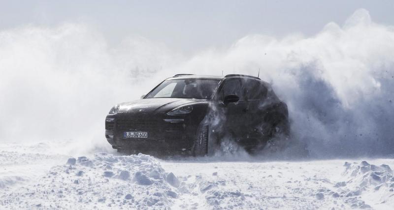 Le futur Porsche Cayenne montre ce dont il est capable