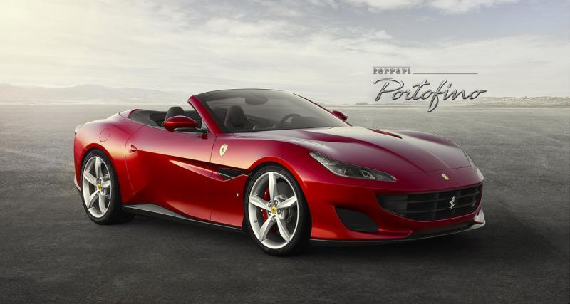 Ferrari Portofino : Goodbye California