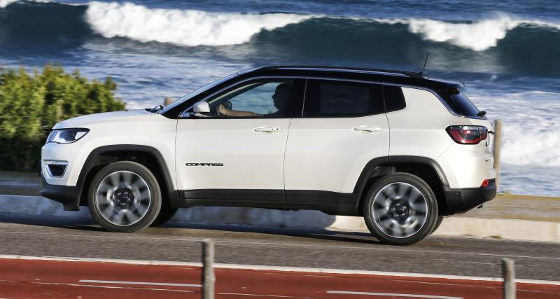coffre jeep compass 2017