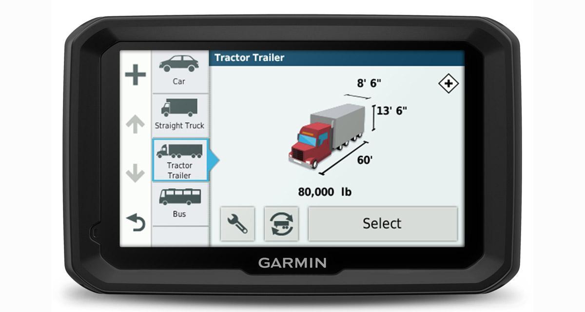 Garmin présente un nouveau GPS poids lourds avec des fonctions innovantes
