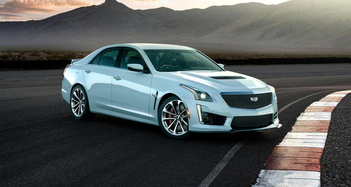 Cadillac fête ses 115 ans avec une CTS-V en série limitée