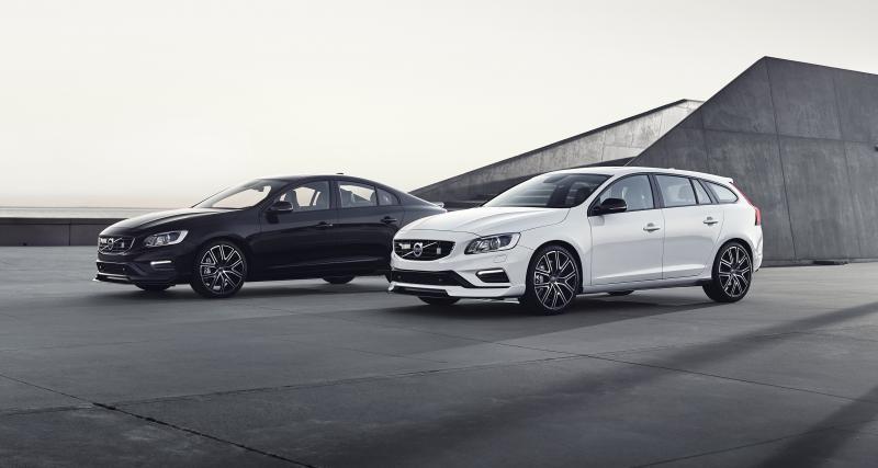 Volvo S60 et V60 Polestar : le carbone au service de l'aérodynamisme