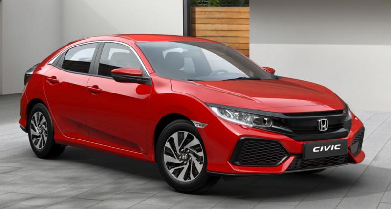 La nouvelle Honda Civic à 279 euros/mois sans apport