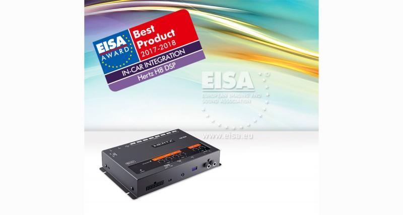Le processeur H8 DSP de Hertz a été primé à l'Eisa 2017-2018