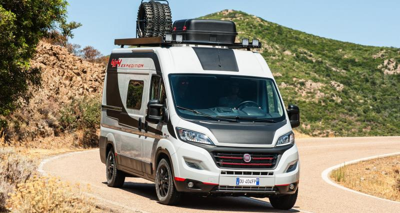 Fiat Ducato 4x4 Expedition : l'aventure, c'est du gâteau