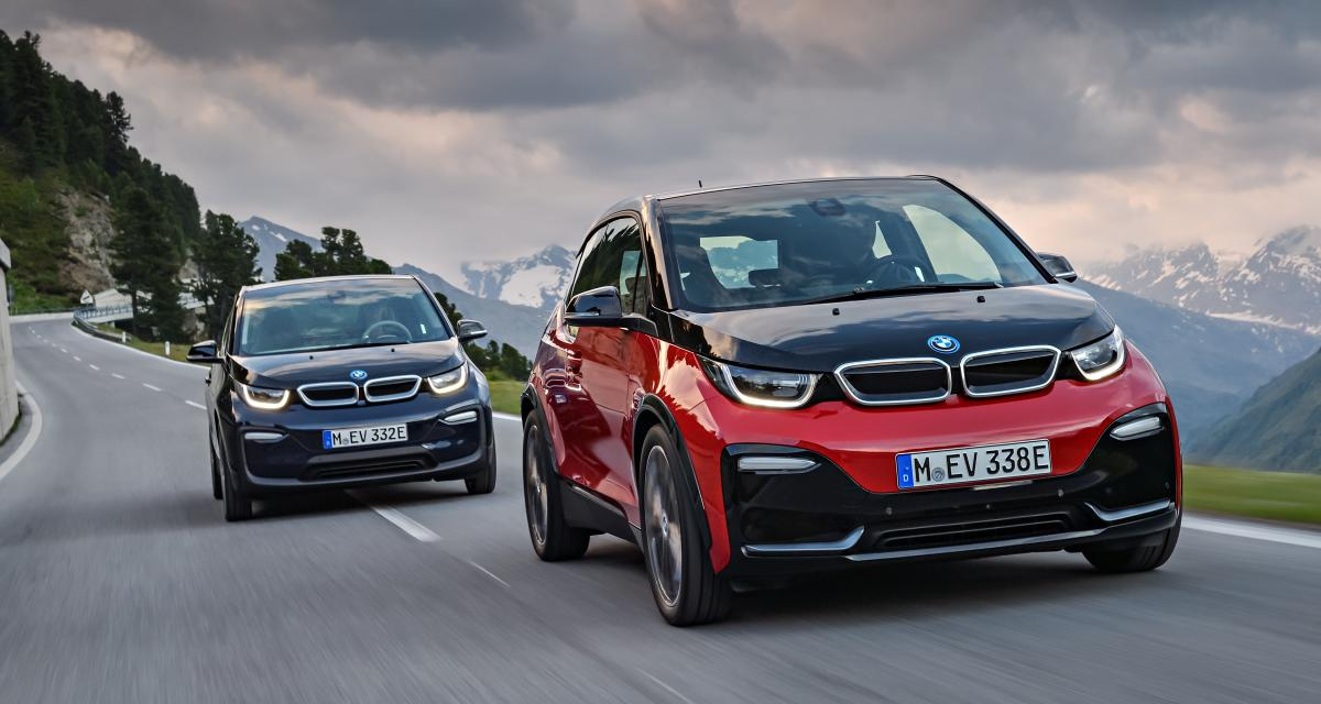 bmw i3 et i3s la citadine premium lectrique devient plus sportive. Black Bedroom Furniture Sets. Home Design Ideas