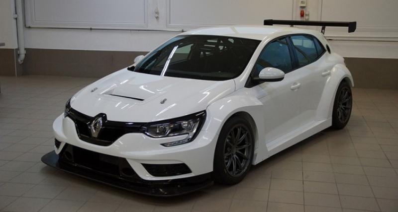 La Renault Mégane s'engage en TCR